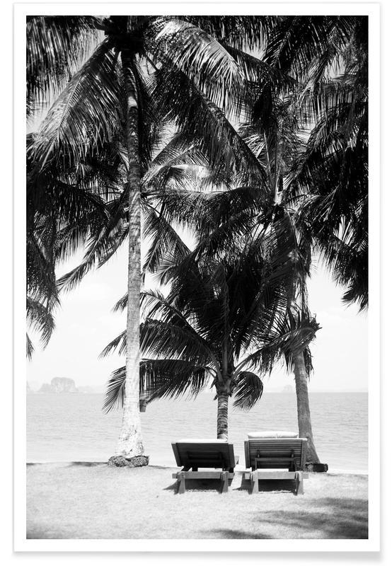 Leaves & Plants, Ko Yao Noi Beach Poster