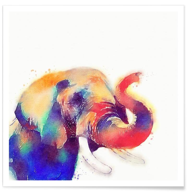 Éléphants, The Majestic affiche