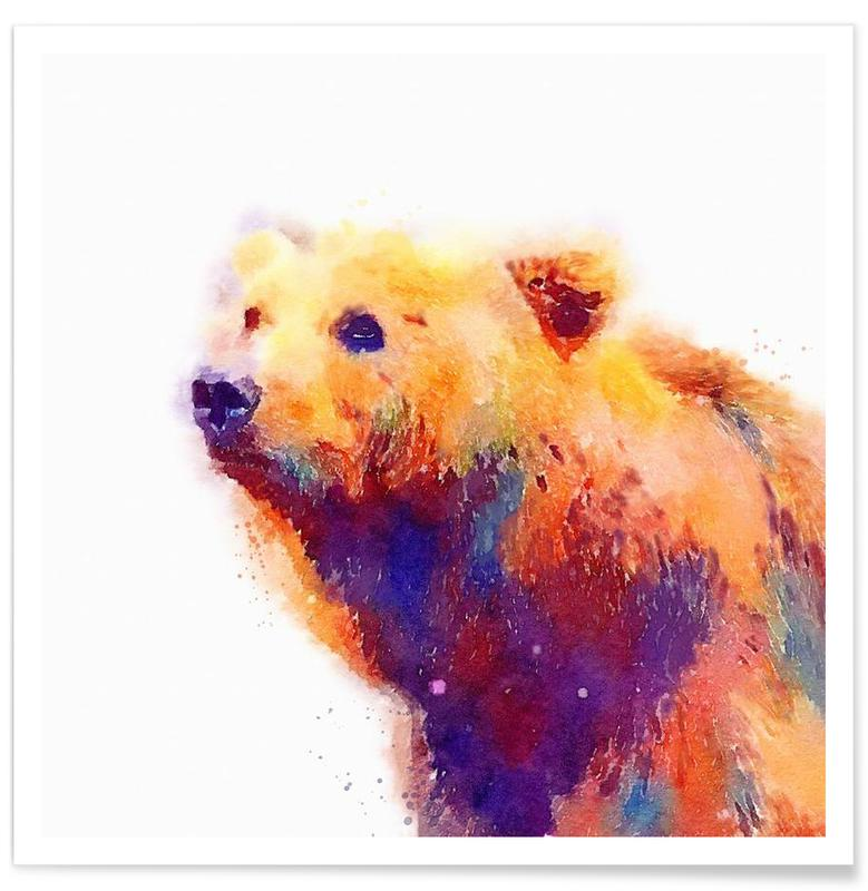 Bears, The Protective Poster