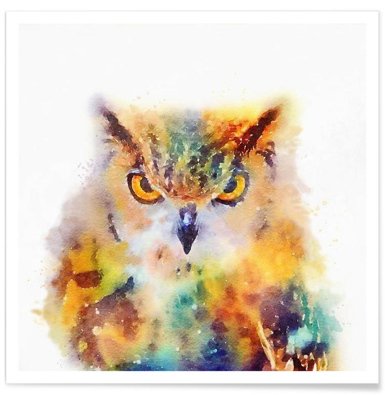 Owls, The Wise Poster