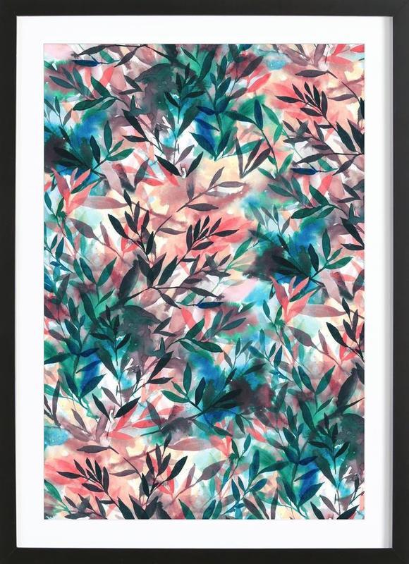 Changes Coral Framed Print