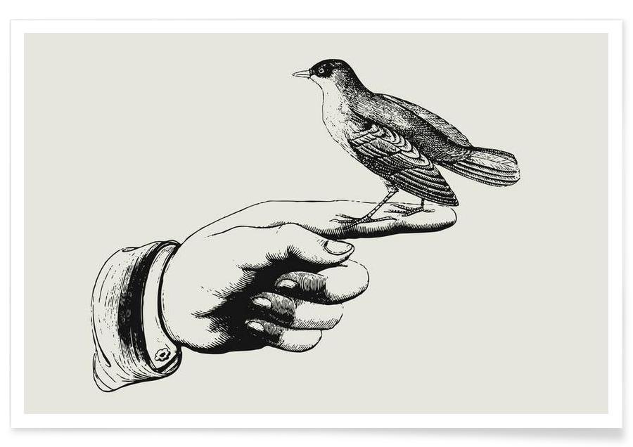 , Bird in the hand affiche