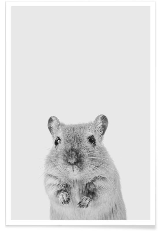 Art pour enfants, Mouse II affiche