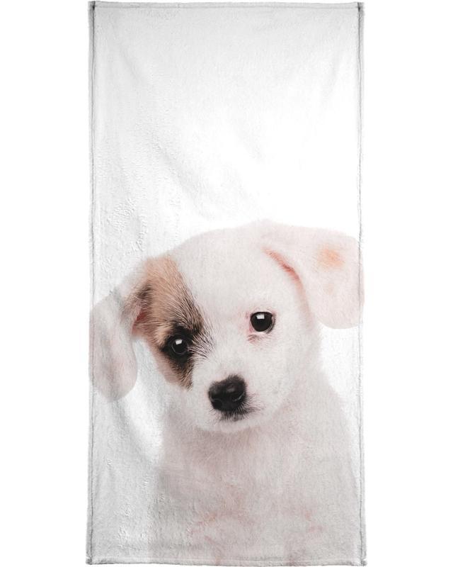 Chiens, Art pour enfants, Puppy serviette de bain
