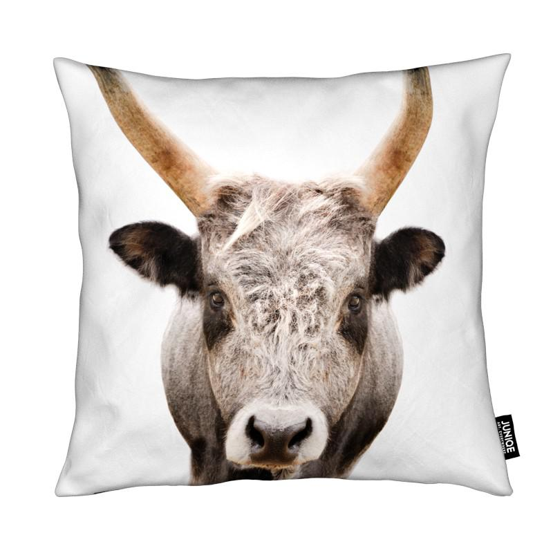 Vaches, Art pour enfants, Bull coussin