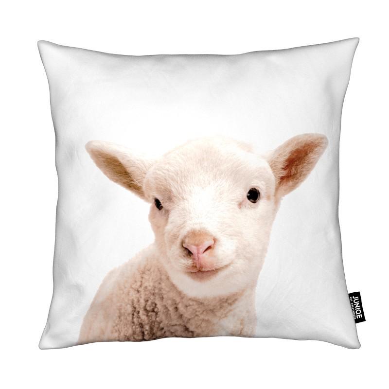 Moutons, Art pour enfants, Little Lamb coussin