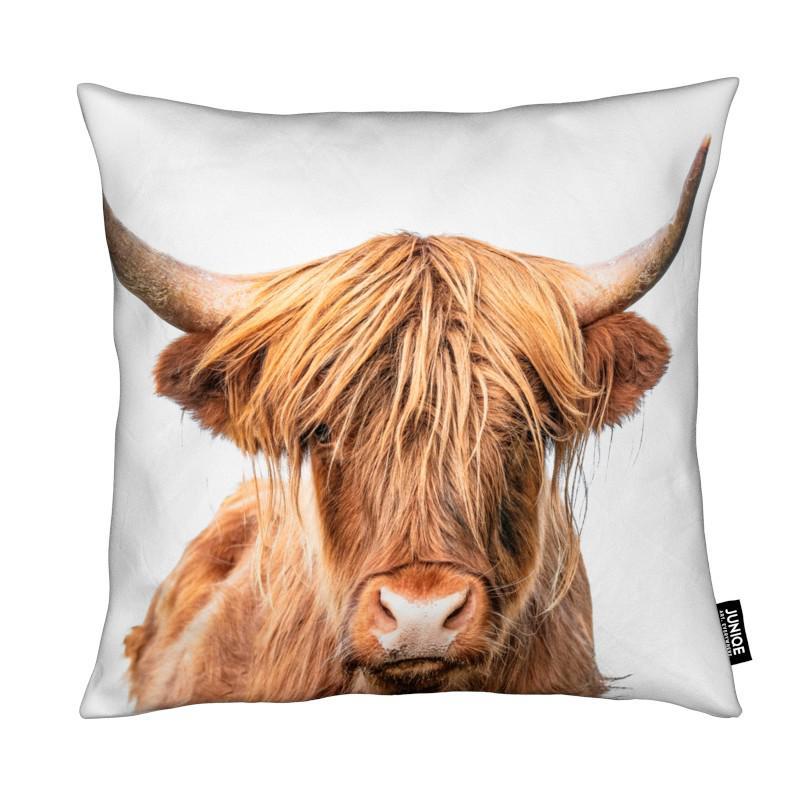 Vaches Highland, Vaches, Art pour enfants, Highland Cow coussin