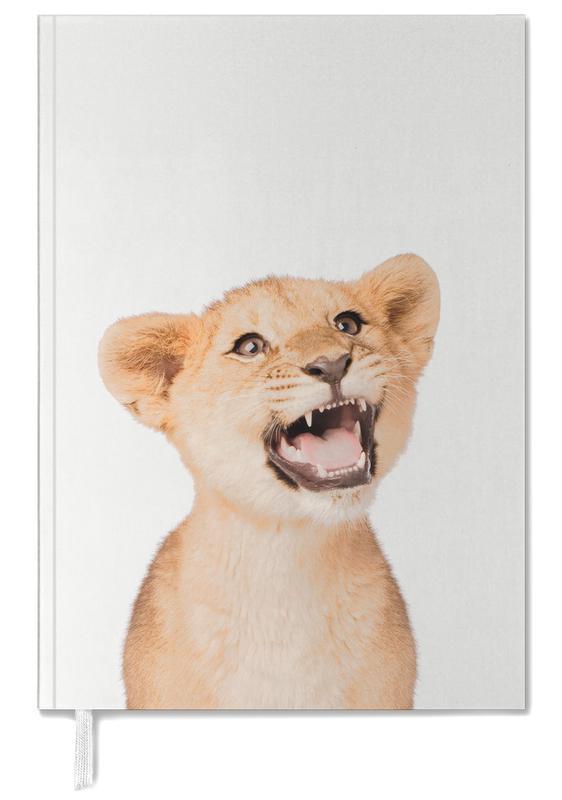 Nursery & Art for Kids, Safari Animals, Lion Cub Personal Planner