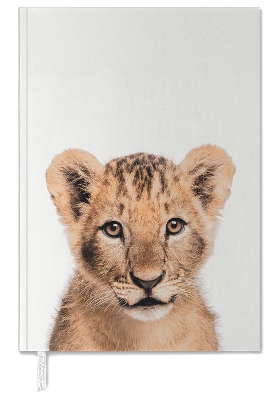 Nursery & Art for Kids, Safari Animals, Lion Cub II Personal Planner