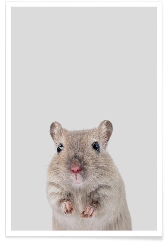 Art pour enfants, Mouse affiche