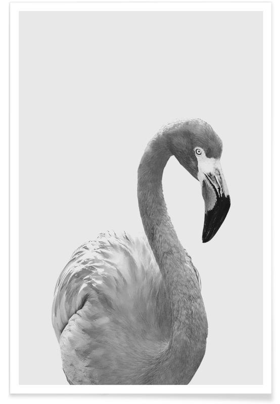 Art pour enfants, Flamingo affiche