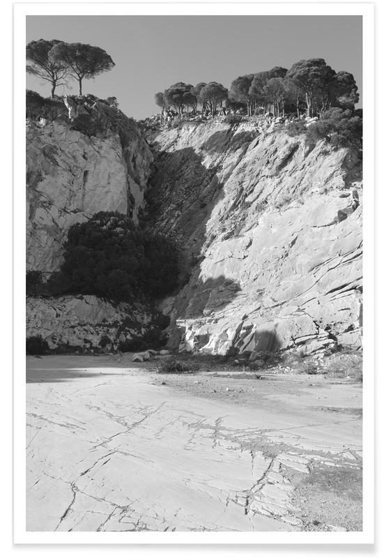 Montagnes, Mountain Quarry affiche