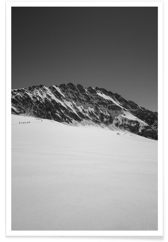 Berge, Expedition -Poster
