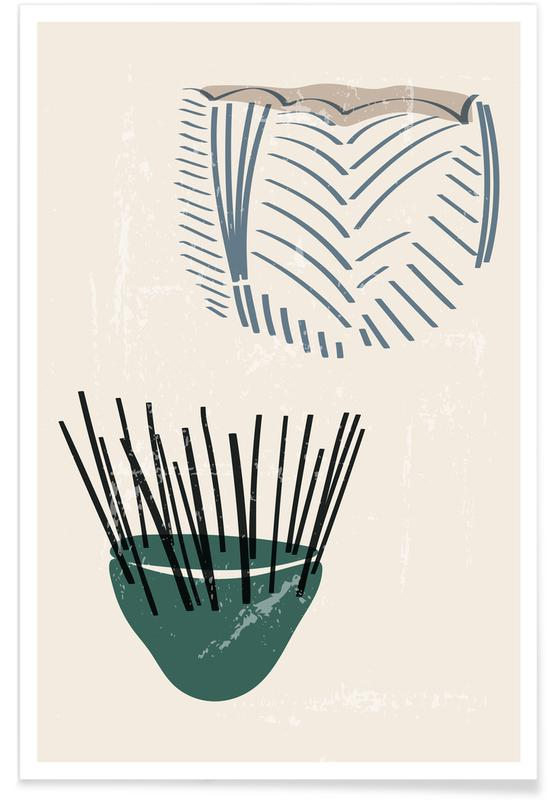 , Weaving Baskets -Poster
