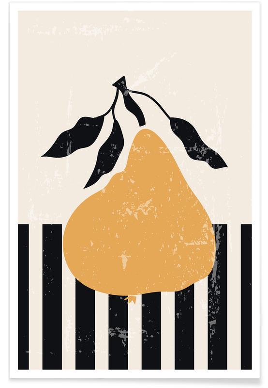 Poires, Golden Pear affiche