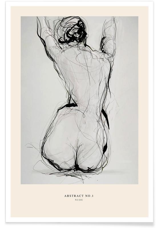 Détails corporels, Nus, Nude affiche