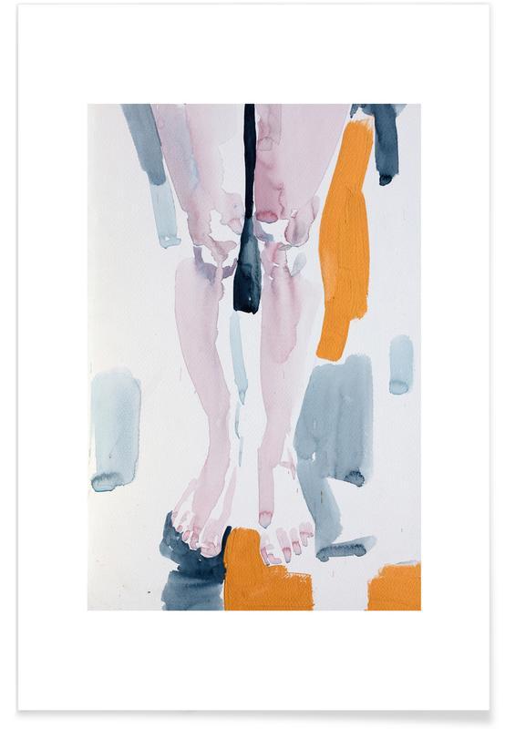 Körperformen, Waiting -Poster