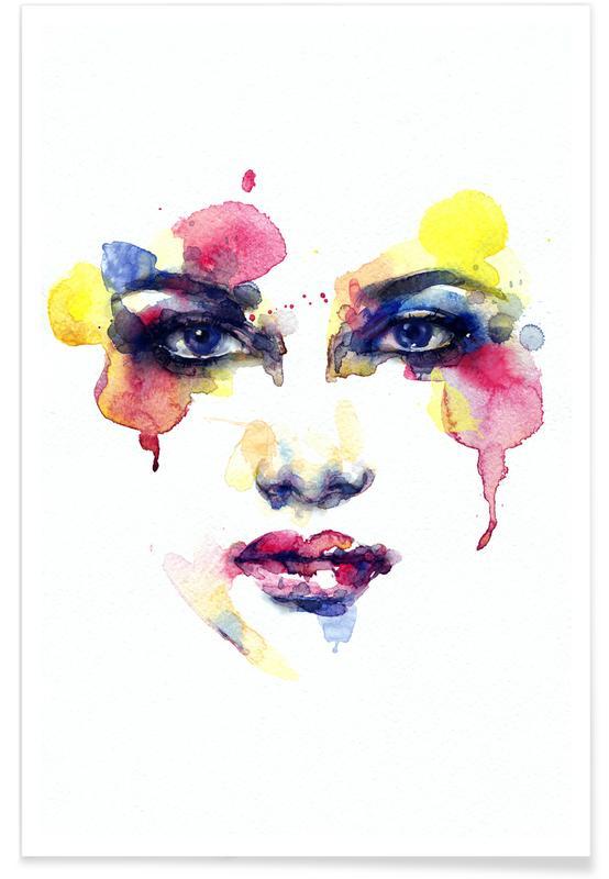 Portraits, Julia Poster