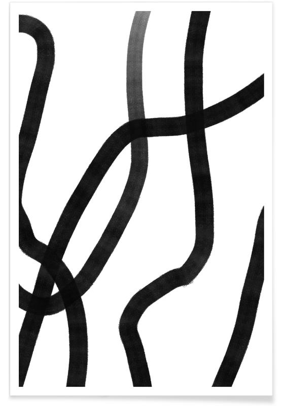 Noir & blanc, Reach affiche