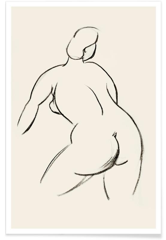 Nus, Détails corporels, Extended Back affiche