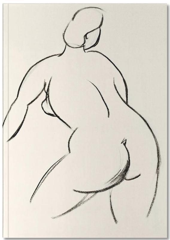 Akte, Körperformen, Extended Back Notebook