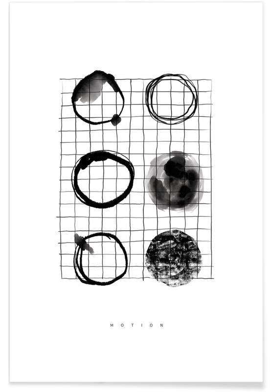 Noir & blanc, Motion affiche