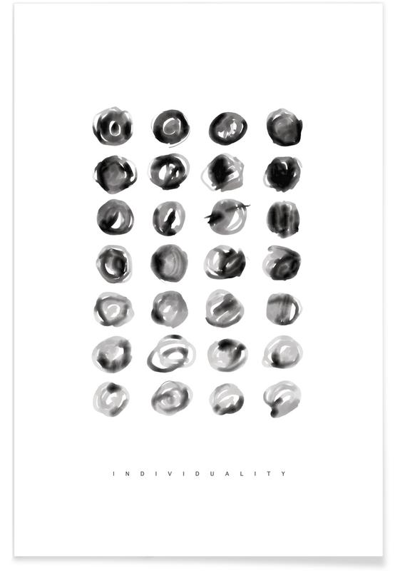 Schwarz & Weiß, Individuality -Poster