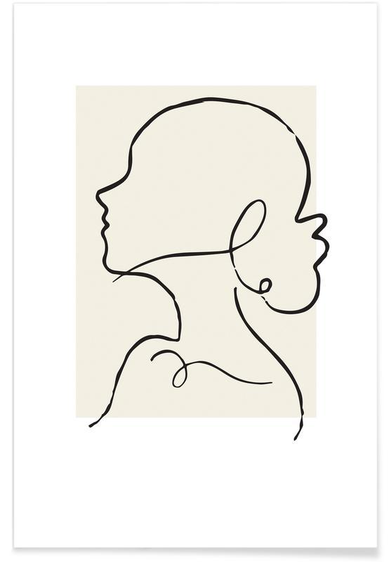 Porträts, Eliza -Poster