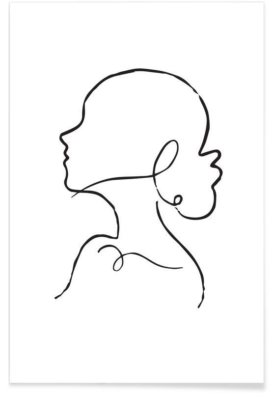 Porträts, Eliza II -Poster