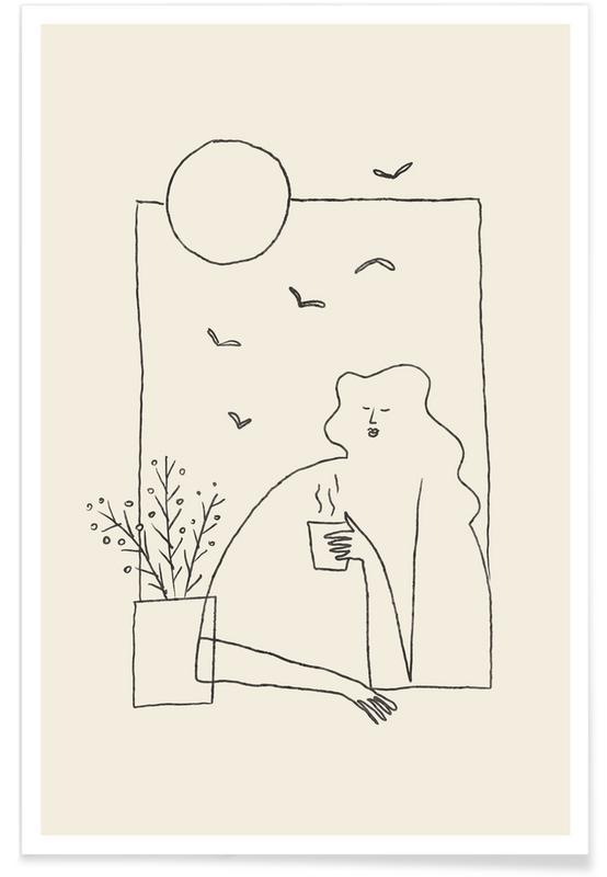 Portrætter, Morning Coffee Plakat