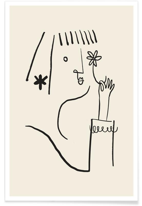 Portretten, Daisy poster
