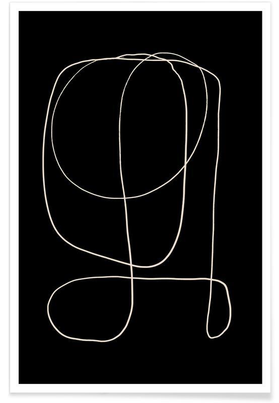 Noir & blanc, Illuminate II affiche