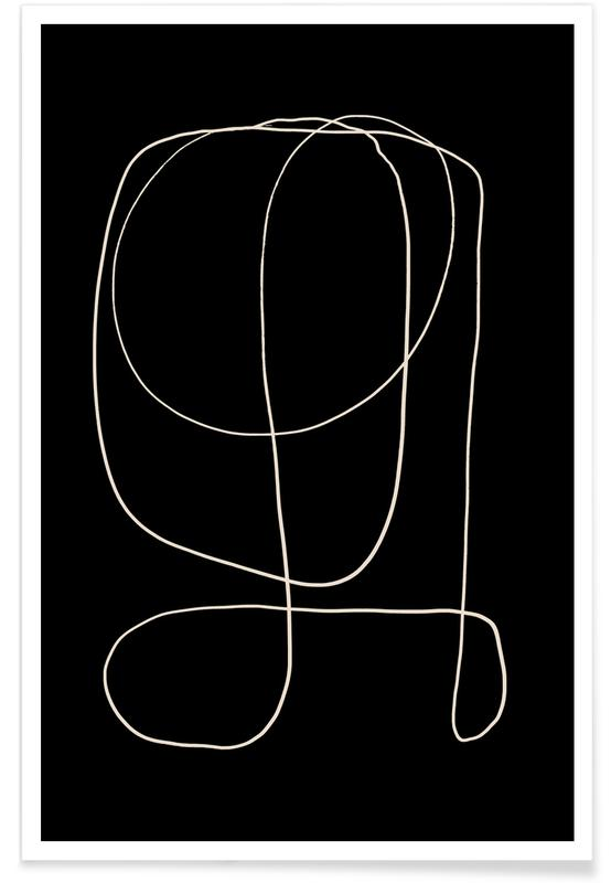 Zwart en wit, Illuminate II poster
