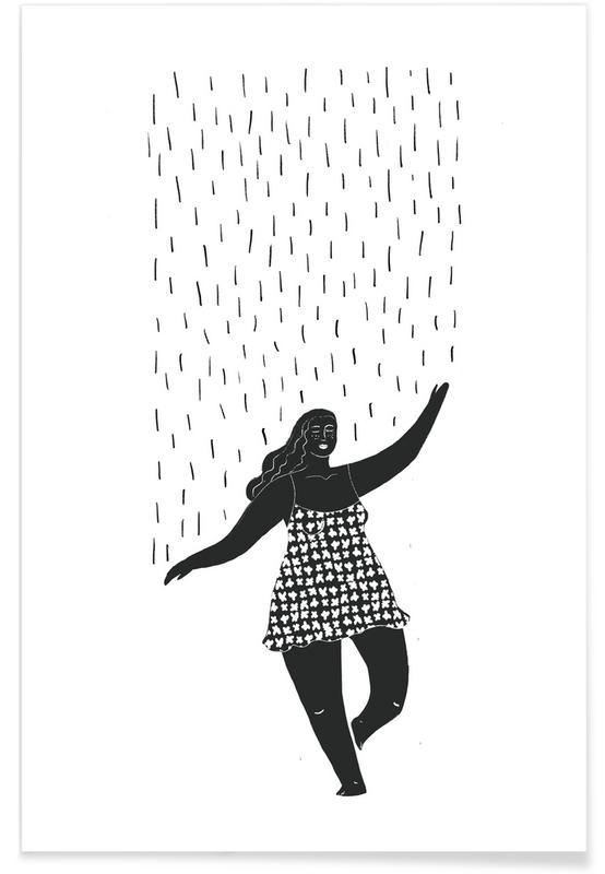 , Dancing in the Rain affiche