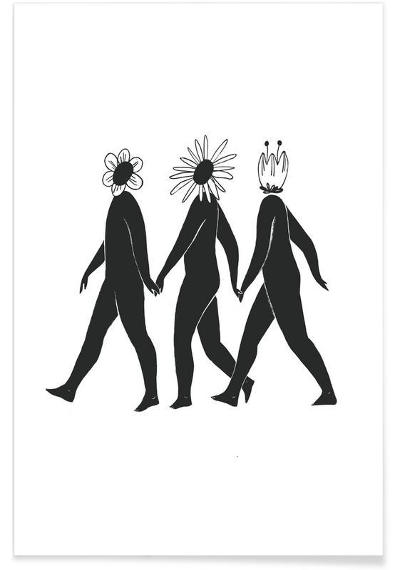 , Flower Friends affiche