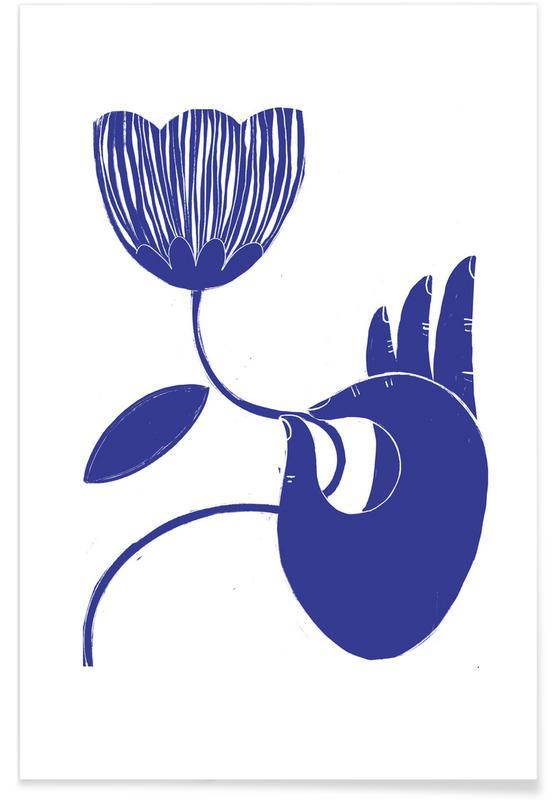 Body close-ups, Dexterity Blue poster