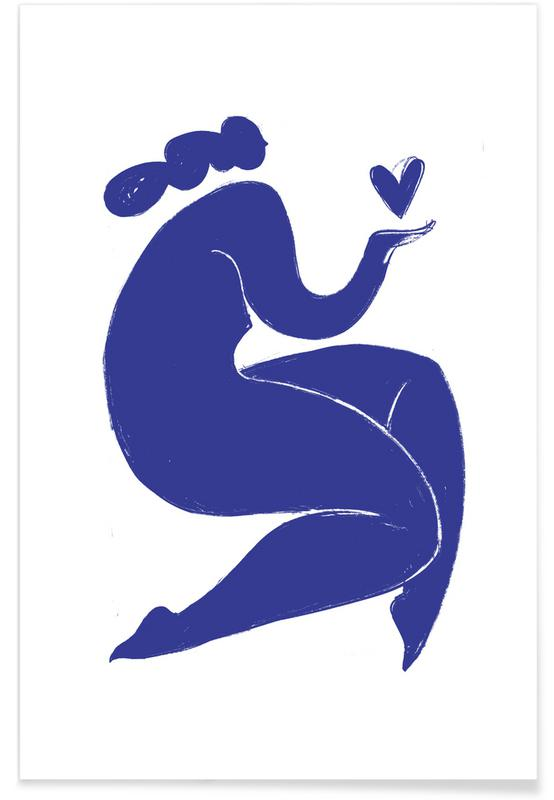 , Handful of Love Blue affiche