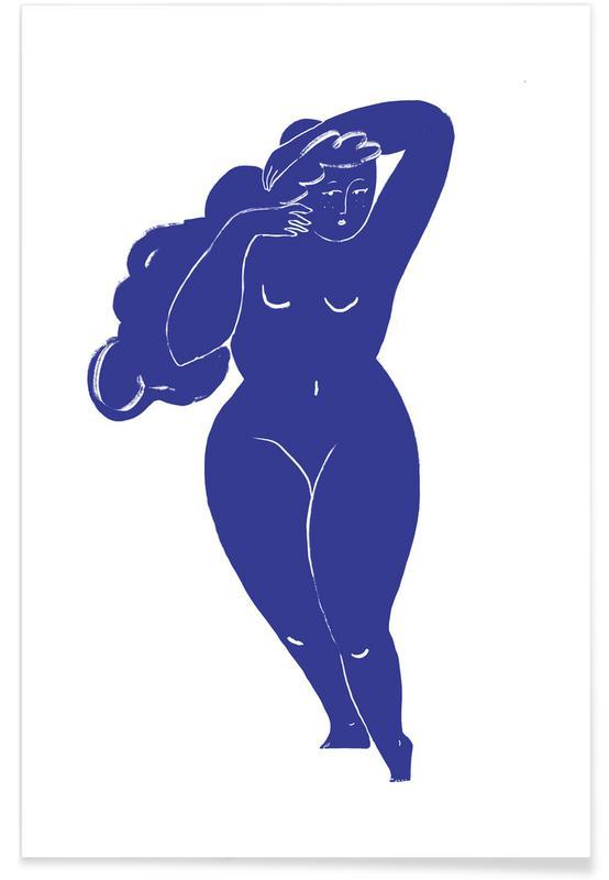 Portretten, Tame the Mane Blue poster