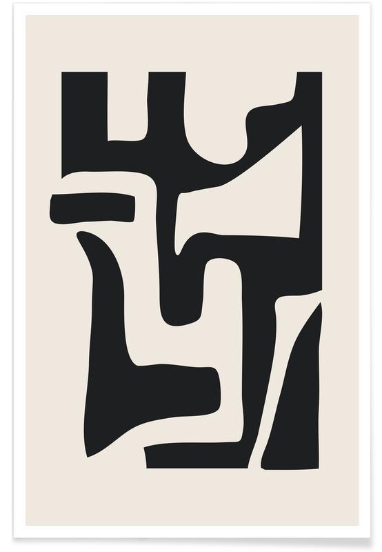 Sort & hvidt, Ladders Plakat