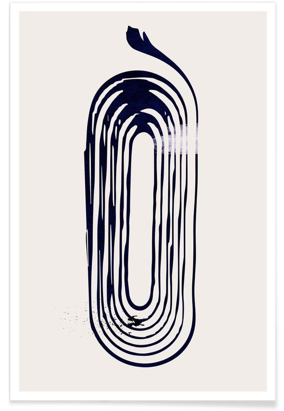 Black & White, Loop Poster