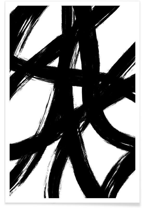 Zwart en wit, Tight Knit poster
