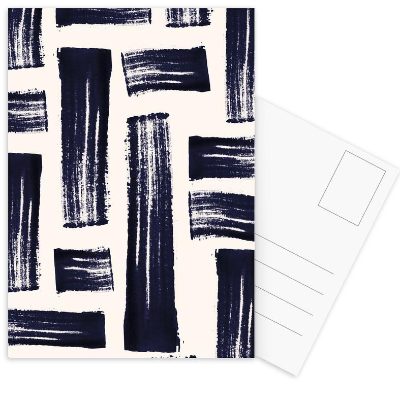 Schwarz & Weiß, Maze -Postkartenset