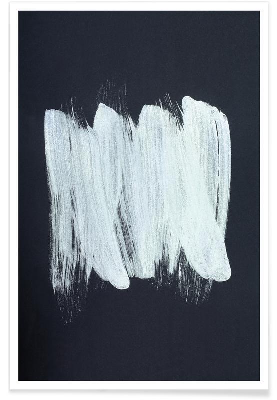 Black & White, Bioluminescence Poster
