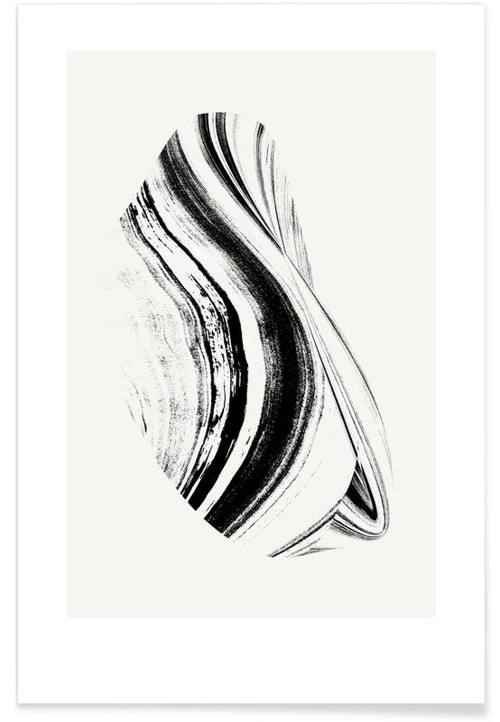 Black & White, Negative Cohesion Poster
