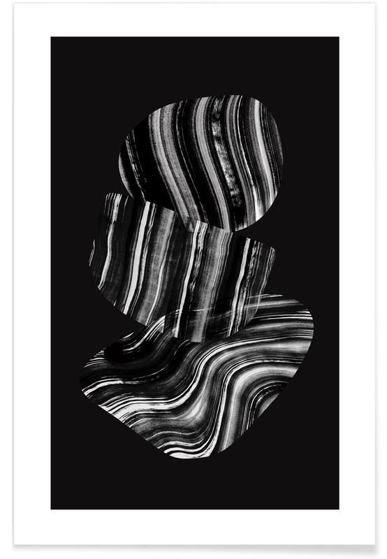 Noir & blanc, Black And White Film affiche