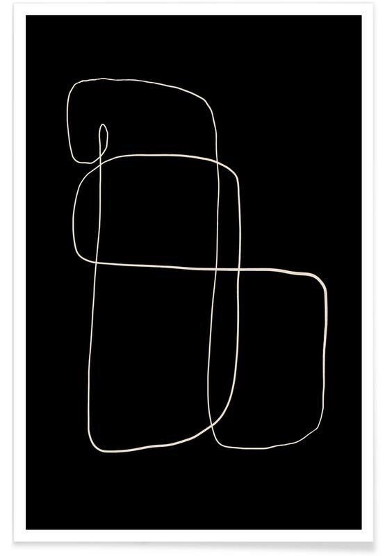 Noir & blanc, Illuminate affiche