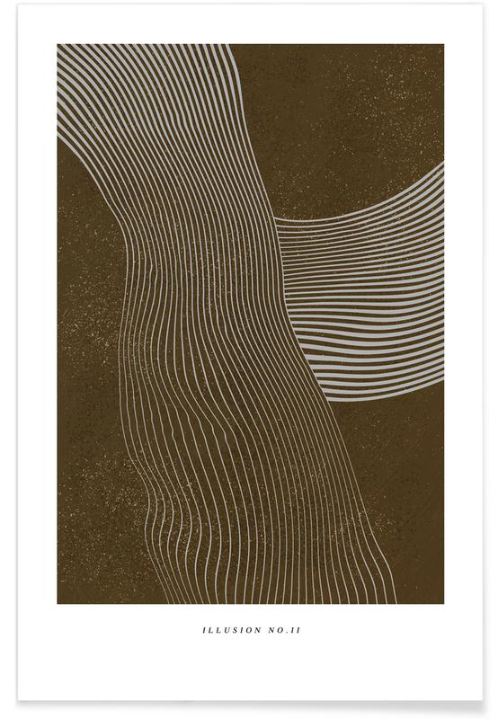 Noir & blanc, Illusion II affiche