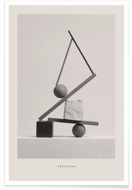 Noir & blanc, Precision affiche