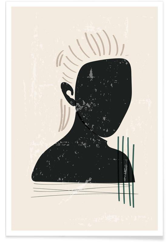Porträts, Clara -Poster