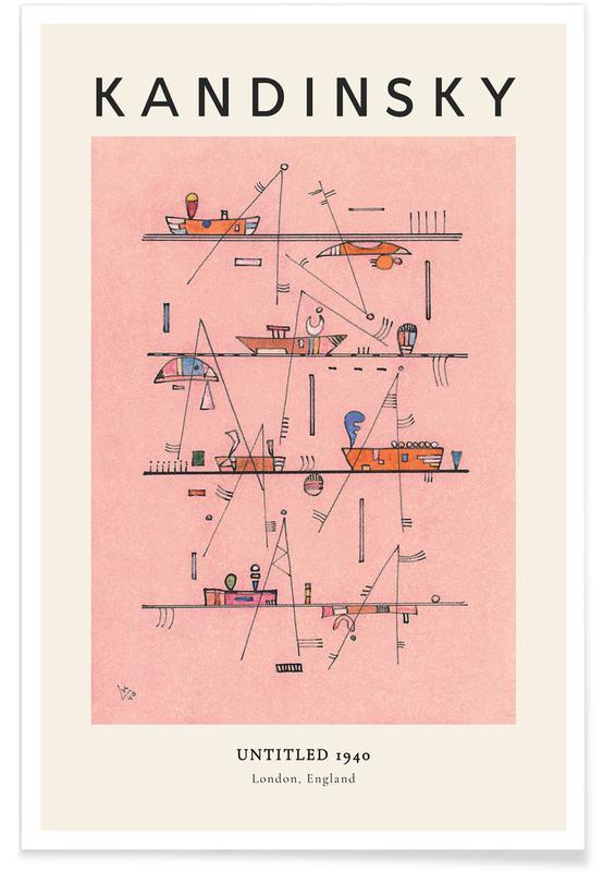 Wassily Kandinsky, Kandinsky - Untitled affiche
